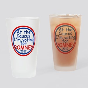 Romney Caucus Drinking Glass