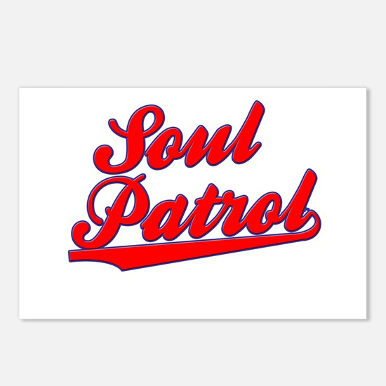 Soul Patrol Swoosh Postcards (Package of 8)