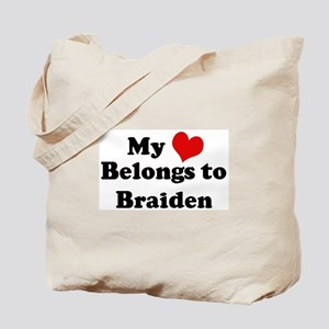 My Heart: Braiden Tote Bag