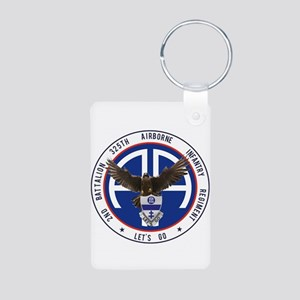 2nd / 325th AIR Aluminum Photo Keychain