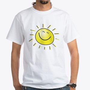Sunshine White T-Shirt