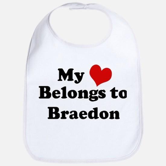 My Heart: Braedon Bib