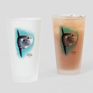 Ocean Sunfish Drinking Glass