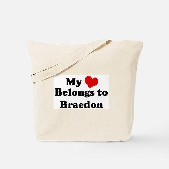 My Heart: Braedon Tote Bag