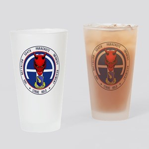 2nd / 504th PIR Drinking Glass