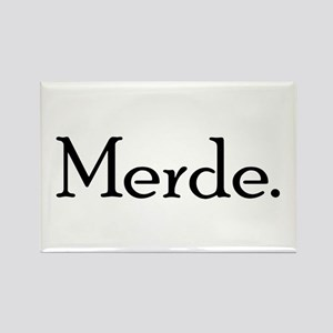 Merde Rectangle Magnet (10 pack)