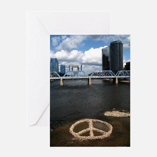 Peace, Grand Rapids Greeting Card