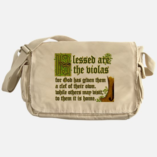 Unique Orchestra Messenger Bag