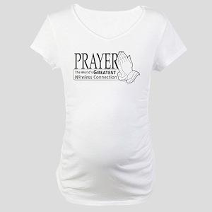 """Prayer"" Maternity T-Shirt"