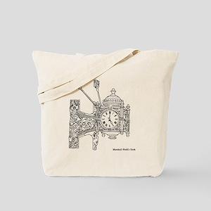 Field's Clock Tote Bag