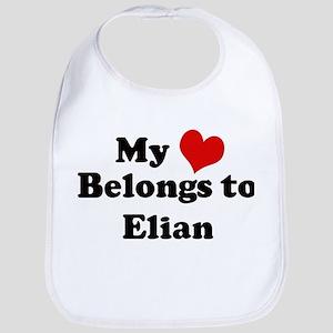 My Heart: Elian Bib