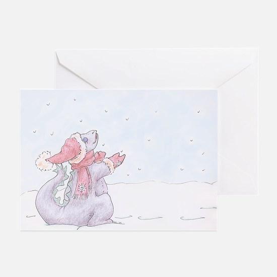 Snow Dragon Greeting Cards (Pk of 10)