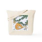 Snow Dragon II Tote Bag