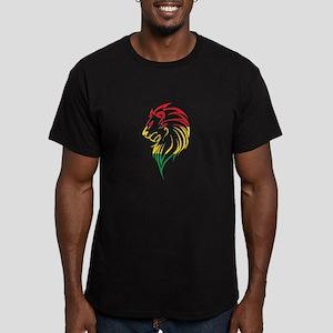 FIERCE JUDAH Men's Fitted T-Shirt (dark)