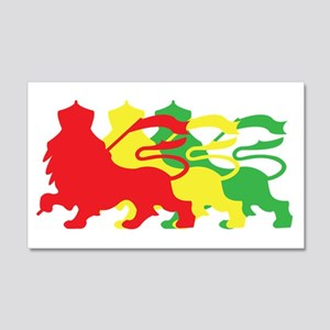 COLOR A LION 22x14 Wall Peel