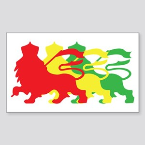 COLOR A LION Sticker (Rectangle)