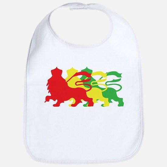 COLOR A LION Bib