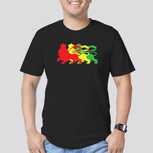 COLOR A LION Men's Fitted T-Shirt (dark)