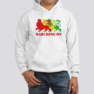 MARCHING ON Hooded Sweatshirt