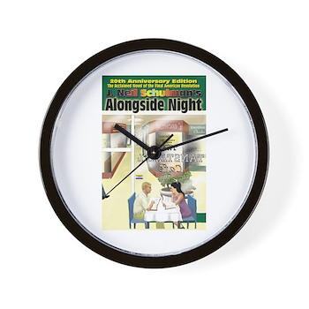 Alongside Night Wall Clock