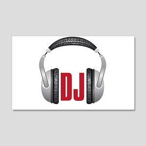 DJ 22x14 Wall Peel