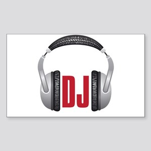 DJ Sticker (Rectangle)