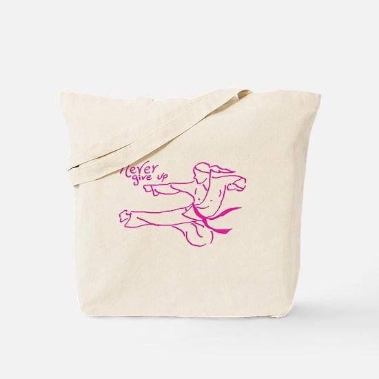 Unique Martial artist Tote Bag