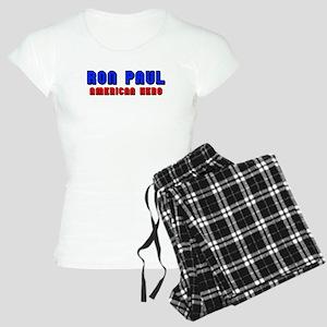 Ron Paul-American Hero Women's Light Pajamas