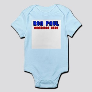 Ron Paul-American Hero Infant Bodysuit
