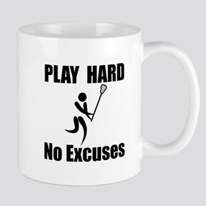 Lacrosse Play Hard Mug