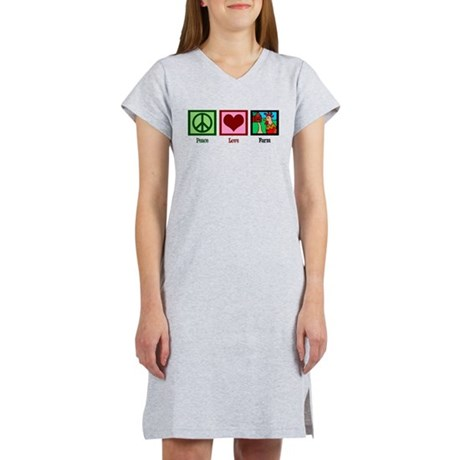 Peace Love Farm Women's Nightshirt