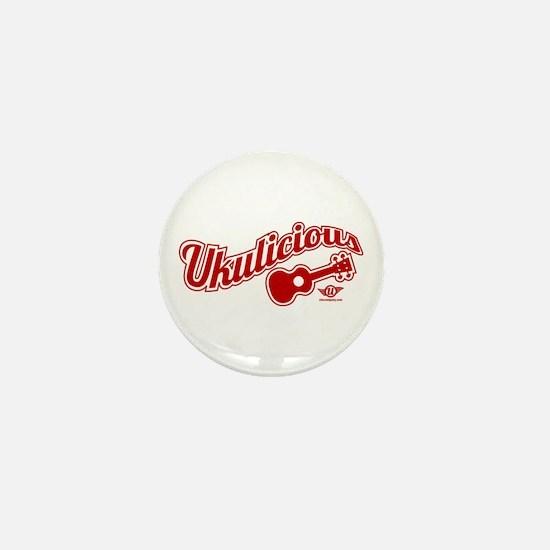 Ukulicious Mini Button