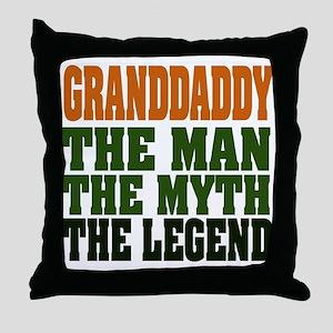 Grandaddy - The Legend Throw Pillow