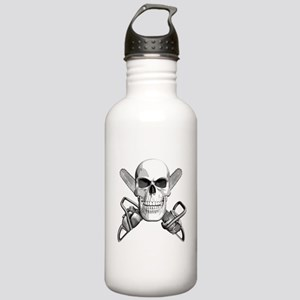 Skull and Chainsaws Stainless Water Bottle 1.0L