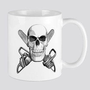 Skull and Chainsaws Mug