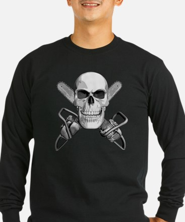 Skull and Chainsaws T
