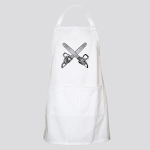 Crossed Chainsaws Apron