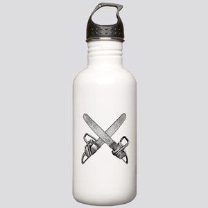 Crossed Chainsaws Stainless Water Bottle 1.0L