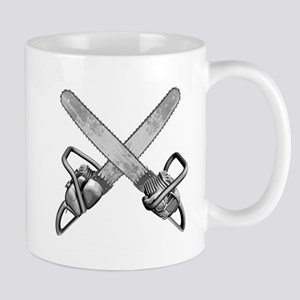 Crossed Chainsaws Mug
