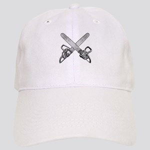Crossed Chainsaws Cap