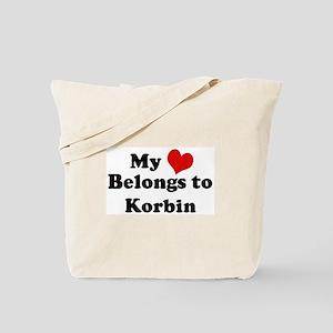My Heart: Korbin Tote Bag
