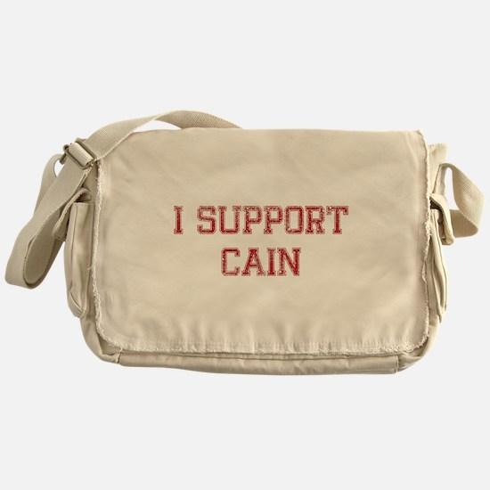 I Support Cain Messenger Bag