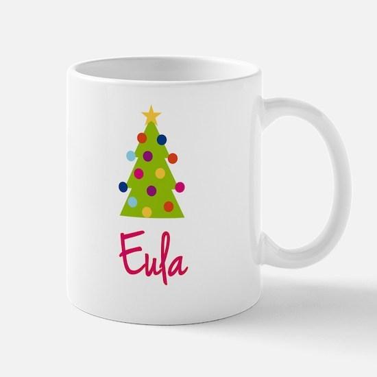 Christmas Tree Eula Mug