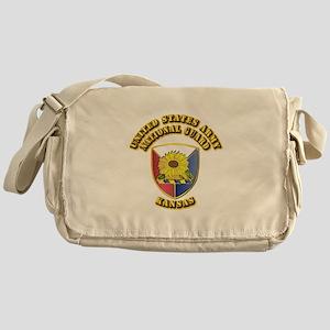 Army National Guard - Kansas Messenger Bag