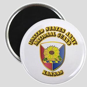 Army National Guard - Kansas Magnet