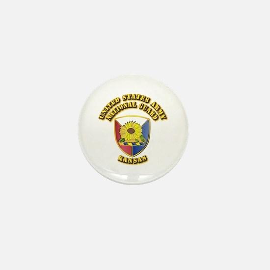 Army National Guard - Kansas Mini Button