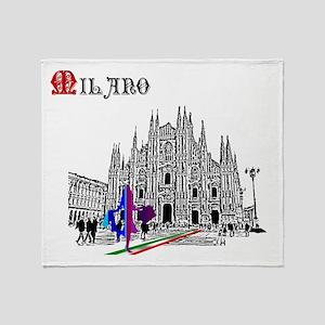 Milano Milan Italy Throw Blanket