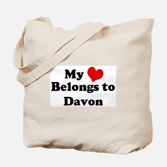 My Heart: Davon Tote Bag