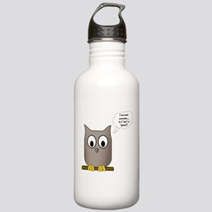 Who or Whom? Stainless Water Bottle 1.0L