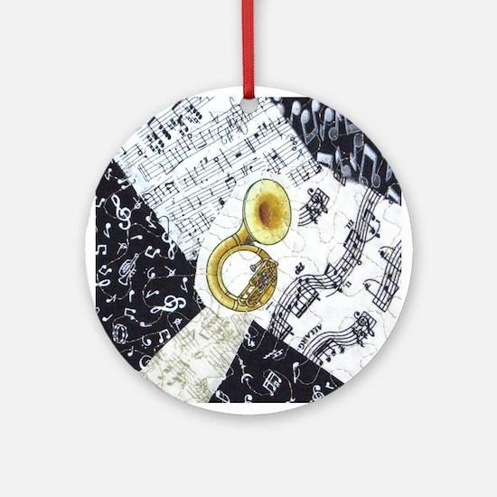 Sousaphone Ornament (Round)